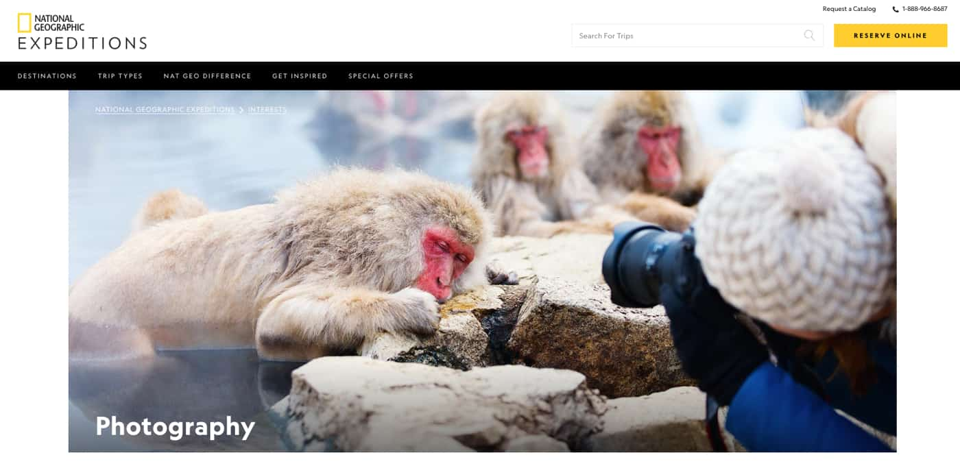National Geographic Expeditions and Photo Workshops