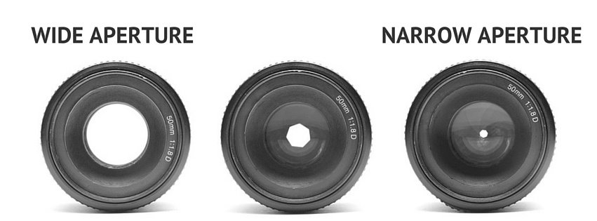 Wide Aperture Vs. Narrow Aperture