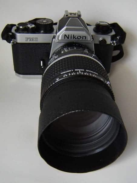 Nikon FM2n w/Nikkor 135mm f/2 DC by E Magnuson