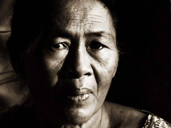 Portrait indonésien by Ludo Rouchy