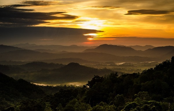 Sunrise at Millabedda, Sri Lanka by uditha wickramanayaka