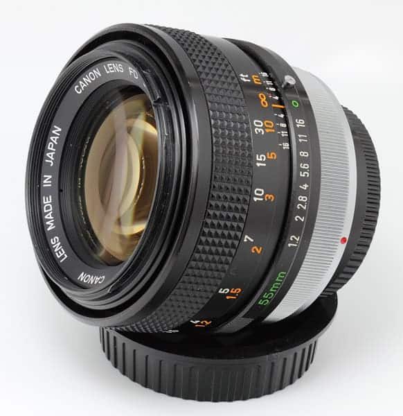 Canon FD 55mm f/1.2 S.S.C. Aspherical Lens by s58y
