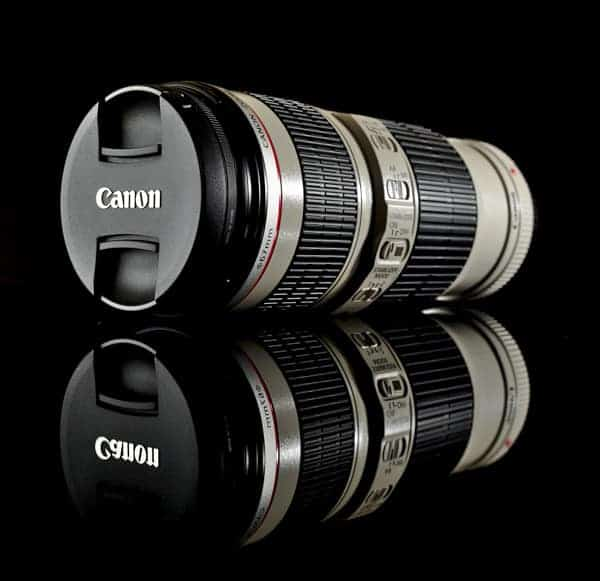 Canon 70-200mm f4 lens by Pete Slater