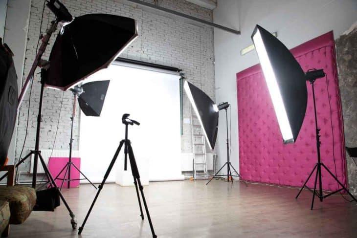 Studio Photogrphy Ligtning