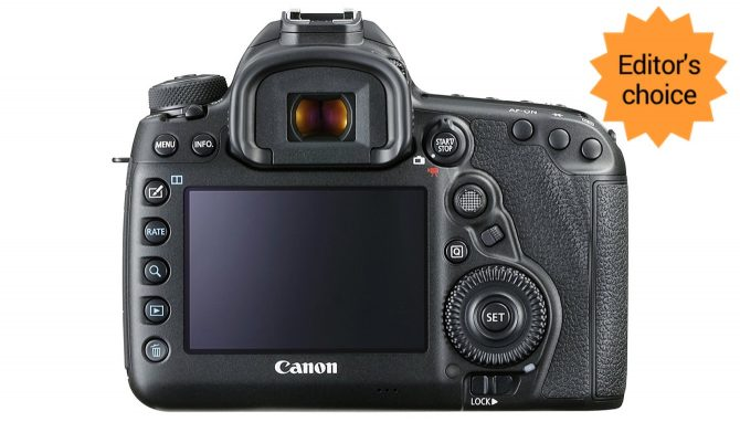 BEST VIDEO MAKING DSLR (2018), the Canon EOS 5D