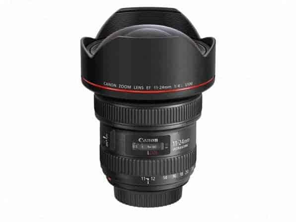 Canon EF 11-24mm f-4L USM Lens