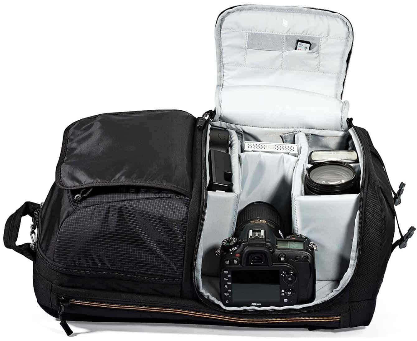 Best DSLR Camera Bags (Affordable Lowepro 250 Bag)