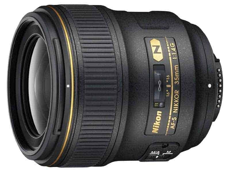 Nikon AF FX NIKKOR 35mm f/1.4G