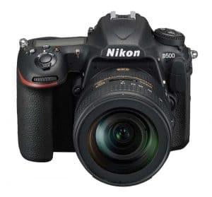 Nikon D500 Review: Front View