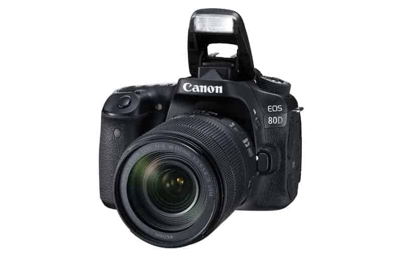 Canon eos 80d Review: Canon EOS 80D with Lens