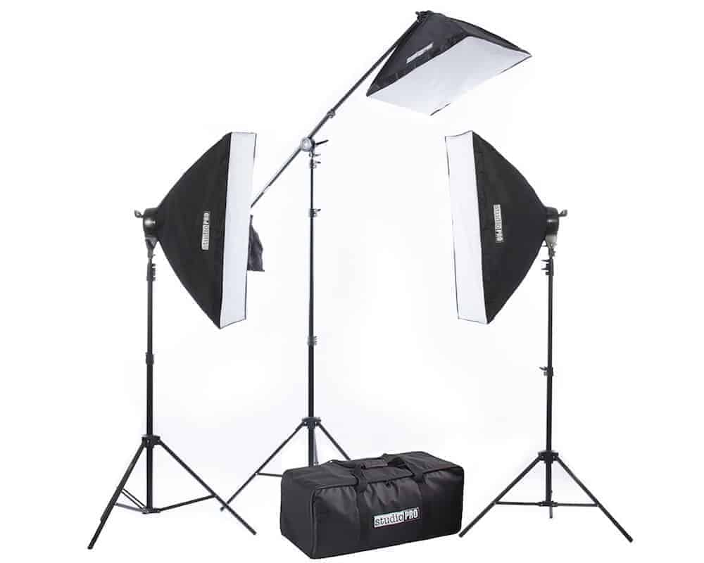 Studiopro Lighting Kit Review The 2500 Watt Studio Softbox