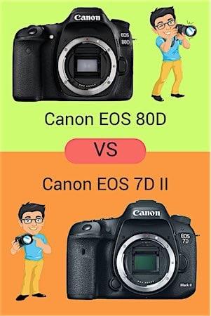 Canon EOS 80D vs 7D II