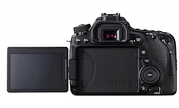 EOS 80D LCD