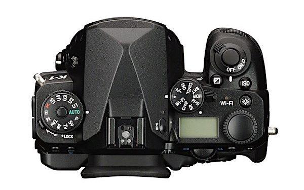 Pentax K-1 Full Frame DSLR Camera Body Top View