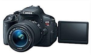 Canon EOS Rebel T5i Flip Screen