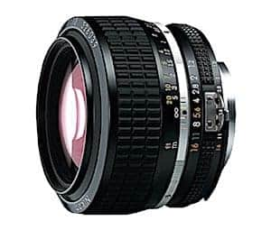Nikon AI-S FX NIKKOR 50mm f/1.2 Fixed Zoom Manual Focus Lens