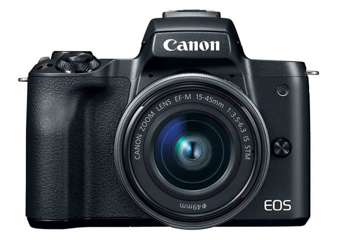 Canon EOS M50 Mirrorless Camera Kit w:EF-M15-45mm and 4K Video (Black)
