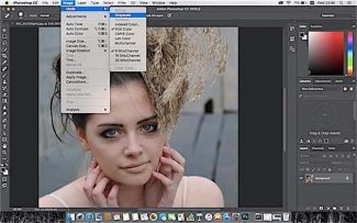 Phototoshop Tip: Got to Image - Mode - Grayscale