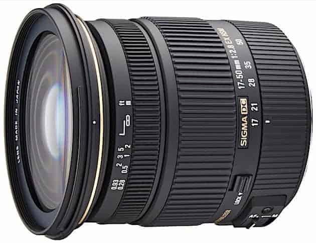Sigma 17-50mm f:2.8 EX DC OS HSM
