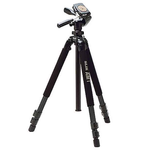 Great Tripod for under USD 200: The Silk Pro 700DX