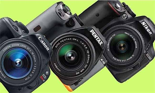 Best DSLR Camera for USD 500: Canon vs. Pentax vs. Nikon