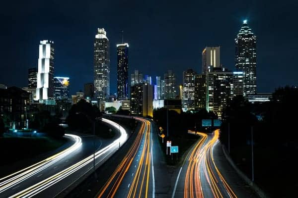 how to shoot light trails