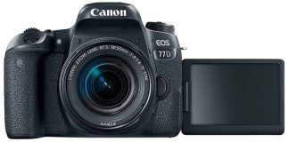 Canon EOS 77D Body Style:w/ 18-55mm