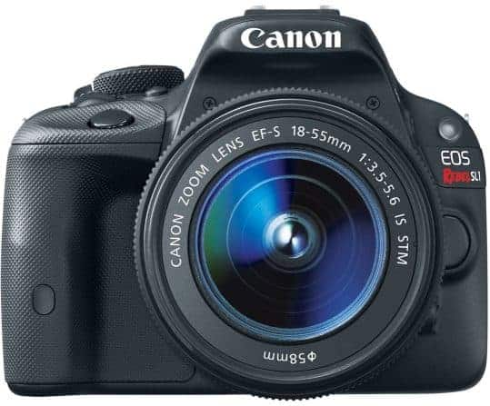 Best for Cursing: The Canon EOS Rebel SL1 Digital SLR with 18-55mm STM Lens
