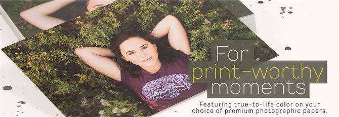 Highly Rated: Mpix Photo printing service.