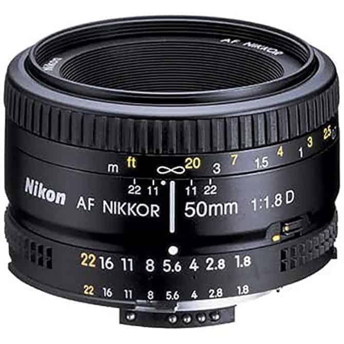 nikon 50mm prime for nighttime photography