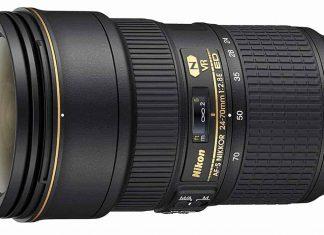 Nikkor 24-70mm VR lens for nighttime photography