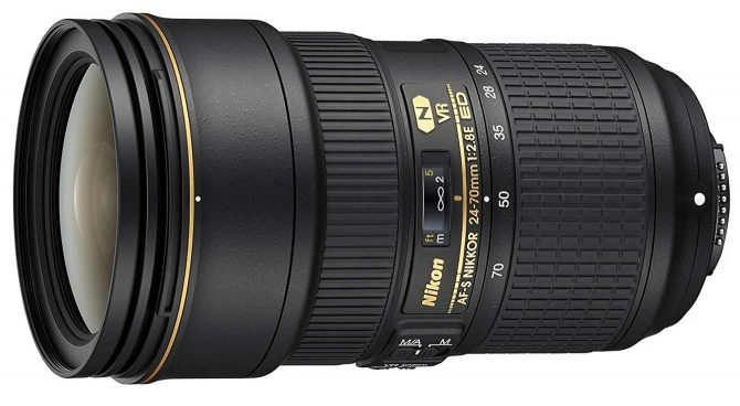 Nikkor 24-70mm VR lens for nighttime photography