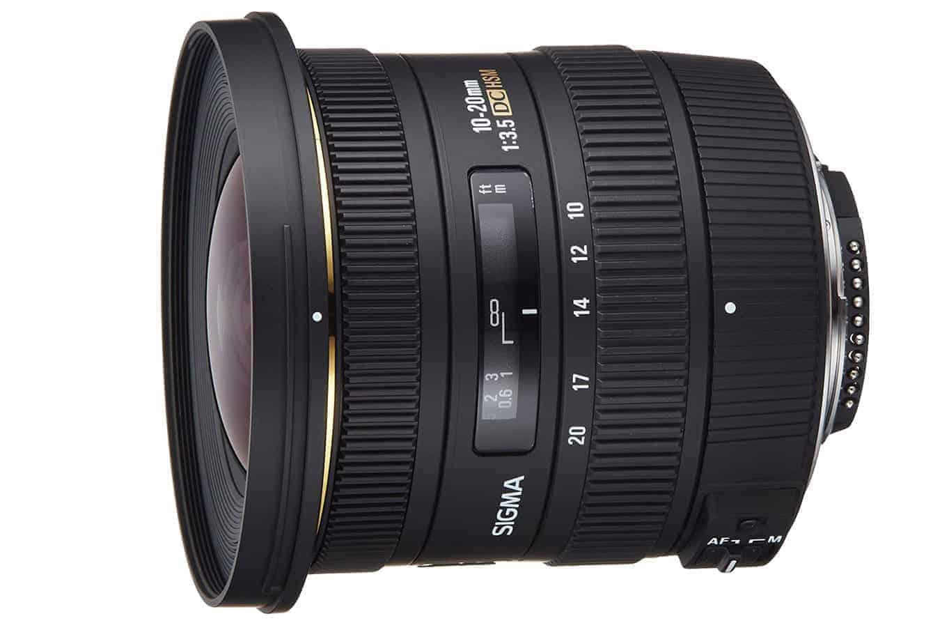 Great for D5600 Nikon DSLR: Sigma 10-20mm f/3.5 EX DC HSM ELD SLD Aspherical Super Wide Angle Lens for Nikon Digital SLR Cameras