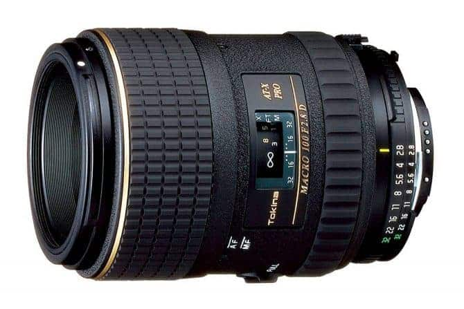 Top Lenses for Nikon D5600: The Tokina AT-X 100mm f/2.8 PRO D Macro Lens for Nikon Auto Focus Digital and Film Cameras