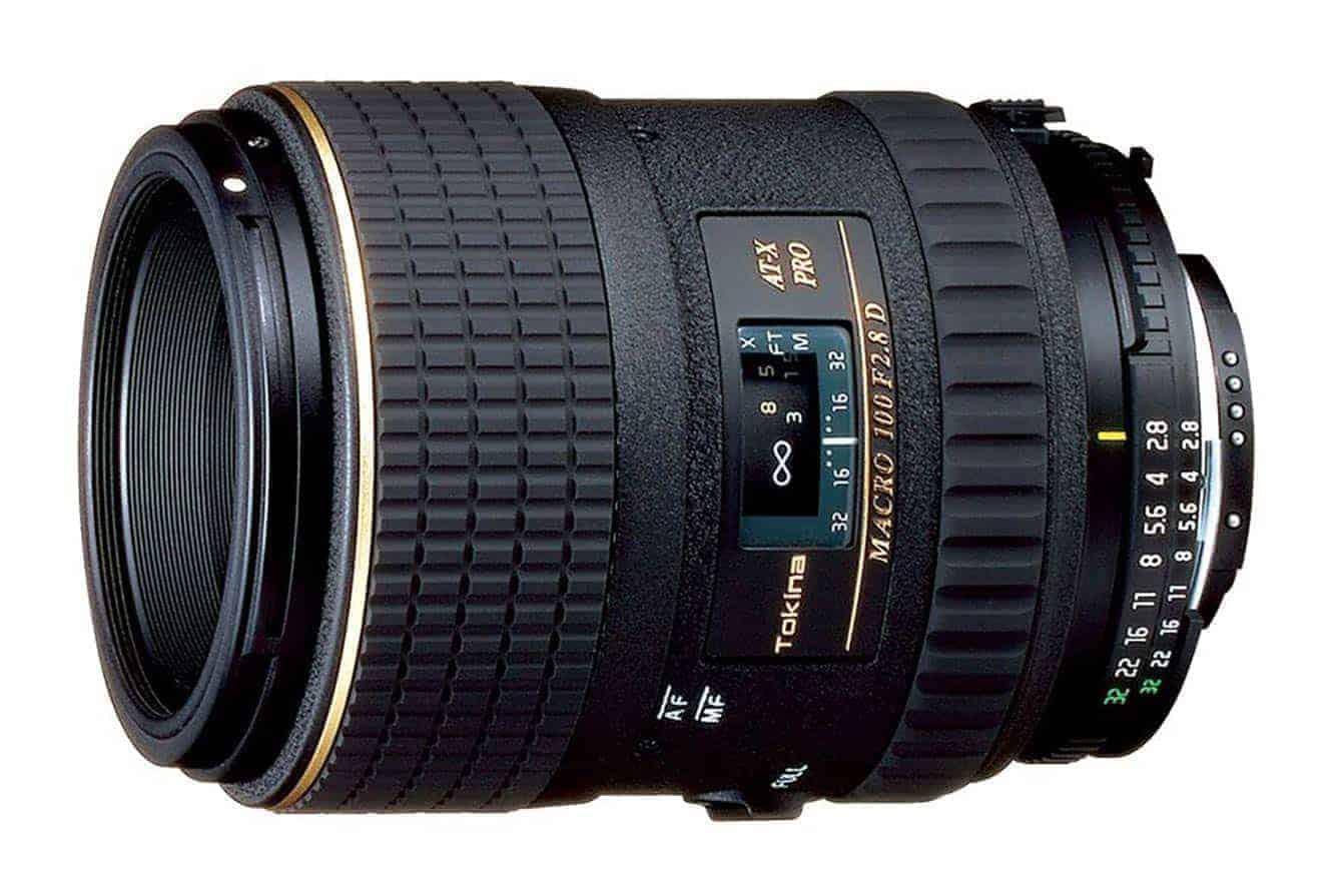 Top Lenses for Nikon D5600: The Tokina AT-X 100mm f/2.8 PRO D Macro Lens for Nikon Auto Focus Digital and Film Cameras