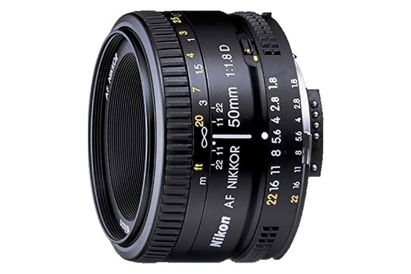 Best Lens Nikon D5600 - The Nikon Af Fx Nikkor 50mm F/1.8d Prime Lens With Manual Aperture Control
