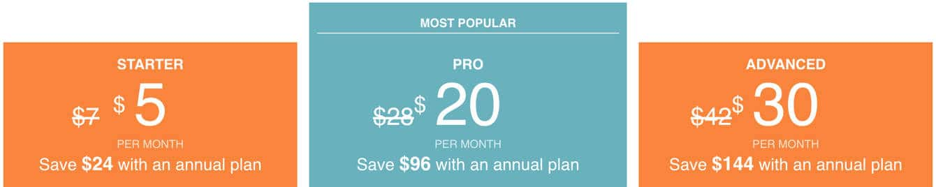 Zenfolio Pricing Plans