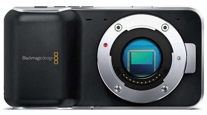Blackmagic Pocket Cinema Camera action cam