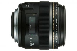 Canon EF-S 60mm f/2.8 lens