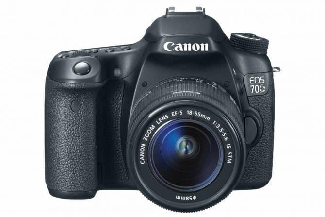 Canon EOS 70D DSLR