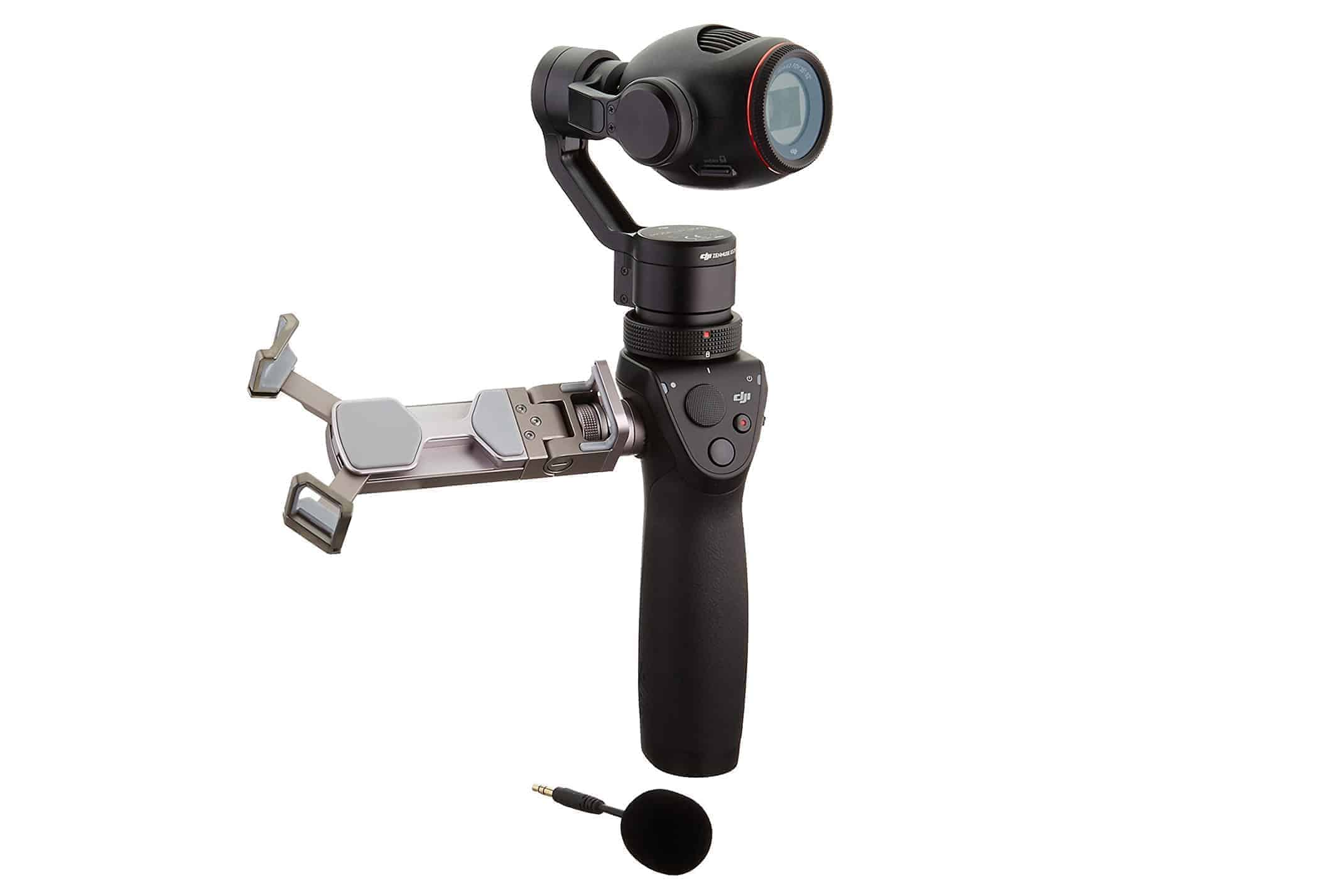 DJI Osmo + action cam