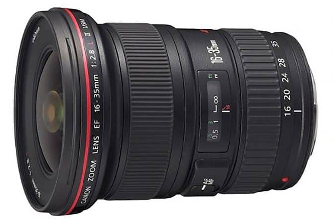 Canon EF 16-35mm f/2.8-L IIlens