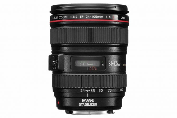 Canon EF 24-105mm f/4-L lens