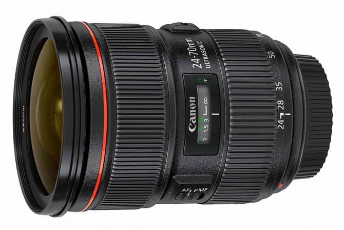Canon EF 24-70mm f/2.8 IIlens