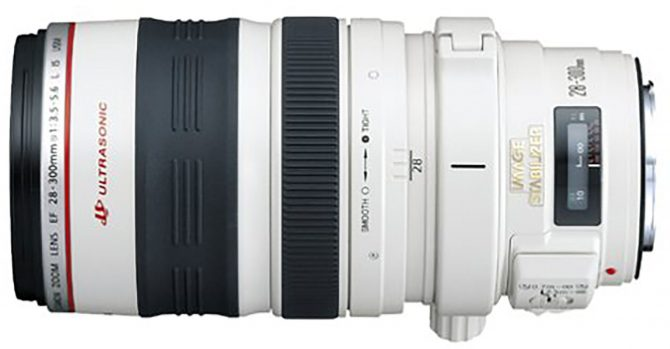 Canon EF 28-300mm f/3.5-5.6-L lens