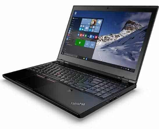 "Lenovo 15.6"" ThinkPad P50"