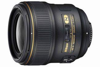 Nikon AF FX NIKKOR 35mm f/1.4 lens