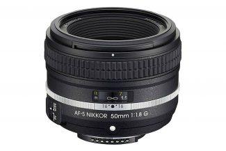 Nikon AF-S FX NIKKOR 50mm f/1.8 lens