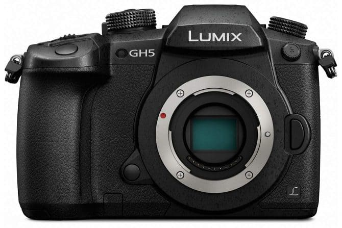 Panasonic Lumix GH5 mirrorless