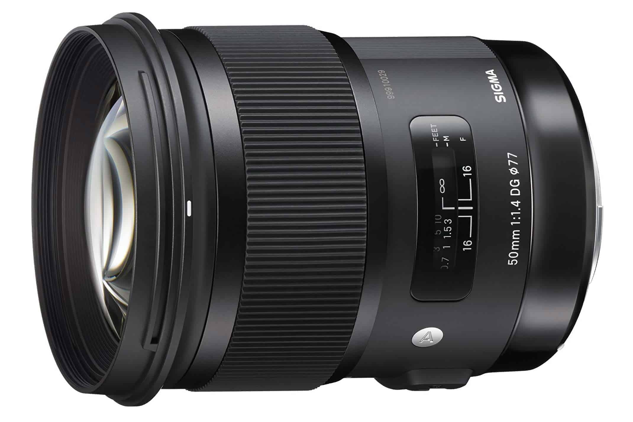 Sigma 50mm f/1.4 lens